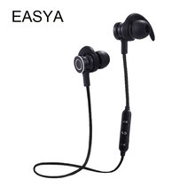 EASYA Sport Bluetooth Earphone Dropshipping Wholesale Headphones Wireless Earbuds Hand free Headset With Mic For Smart Phone