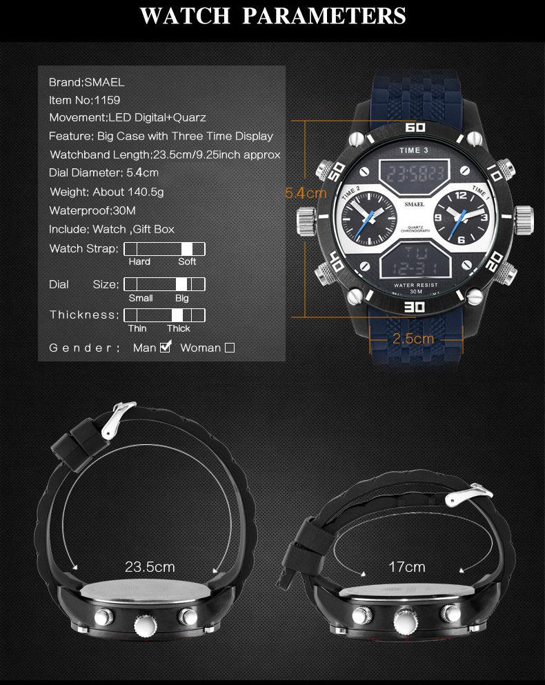 3 montre digitale homme sport auto (2)