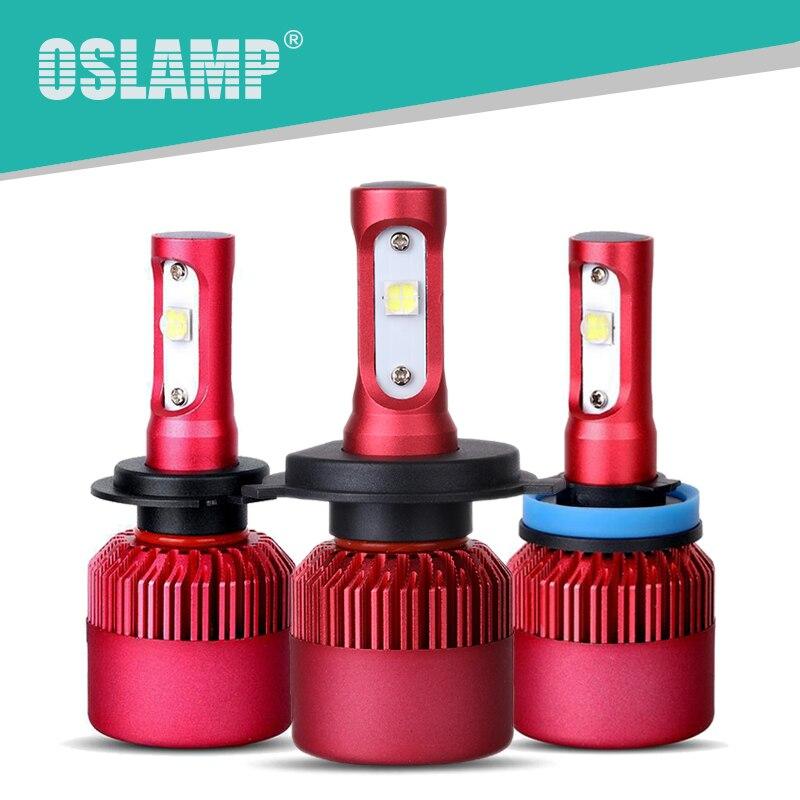 Oslamp Cree SMD Chips 6500K H11 H7 H4 Led Car Headlight Kits 2WD 4WD Auto Styling Headlight Bulbs SUV Fog Lamp Bulbs Cooling Fan<br><br>Aliexpress