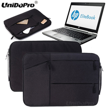 "Unidopro Notebook Handbag Sleeve Briefcase for HP 15.6"" HD WLED Backlit Display Laptop AMD A6-7310 Mallette Carrying Bag Cover(China)"