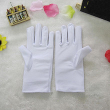 Adult Kids Magic Spandex Gloves Ultra Elastic Dance Work Gloves Sunscreen Stage show Gloves