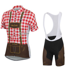 Buy 2017 New style Men cycling jersey set Breathable MTB / road team bike bicycle wear gel pad Maillot ciclismo Gentleman's bike for $22.09 in AliExpress store