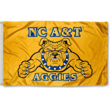 North Carolina A&T Aggies Team College American Outdoor Indoor Football College NCAA Flag 3X5 Custom Any Flag