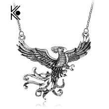 Dumbledore 's Magic Exquisite Phoenix Pendant Necklace Fashion Gifts For Fans Movie Jewelry Wholesale And Retail Drop Shipping
