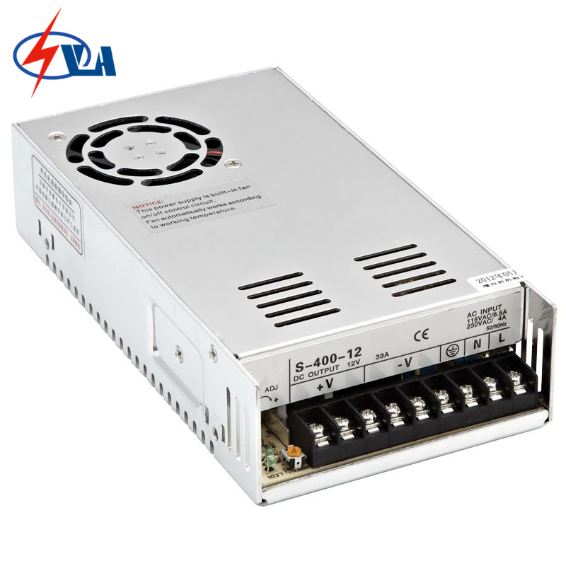 S-400-12 400W 12V led strip light 400w power supply switching<br>
