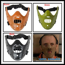 Free shipping Film Movie The Silence of the Lambs Hannibal Lecter mask Masquerade Halloween cosplay dancing party mask In Stock