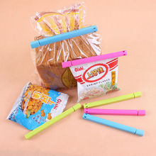 NEW 6pcs Fresh Snack Food Storage Bag Clip Closer Sealing Sealer Clip Clamp Tool
