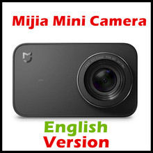 (English Version) Xiaomi Mijia Mini 4K 30fps Action 7 Glass Lens Six-axis EIS 145 Degree Ultra Wide Angle 2.4 inch Screen