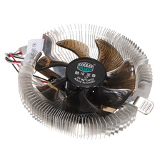 12V Silent Cooling Fan CPU Heatsink Falcon Bench Cooler Master CPU Computer Fan Cpu Fan Computer Component(China)