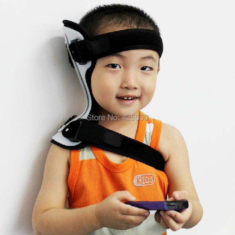 Child Neck Support &amp; Brace Corrector Neck Collar Torticollis Orthotics Universal Size<br>