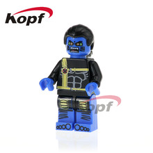 Super Heroes Single Sale X-Men Ultimate Beast Rogue Gretchen Wolverine Angel Building Blocks Education Toys for children PG329(China)