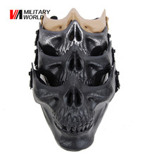Tactical Hunting Shooting Face Masks Men Outdoor Military Wargame Airsoft Full Face Mask Paintball Accessories