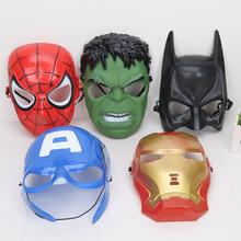 10pcs/lot The Avengers spider man iron man Hulk America captain mask Avengers figure toy(China)