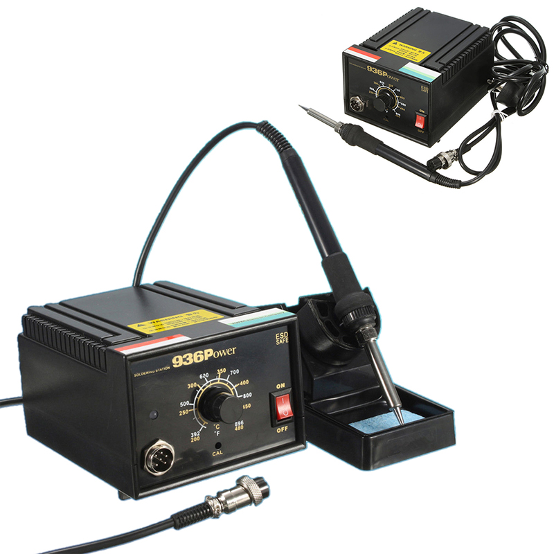 1Set 936 Frequency Change Welding Soldering Station 110V 220V 75W Mayitr Desoldering Kit Tools Accessories<br>