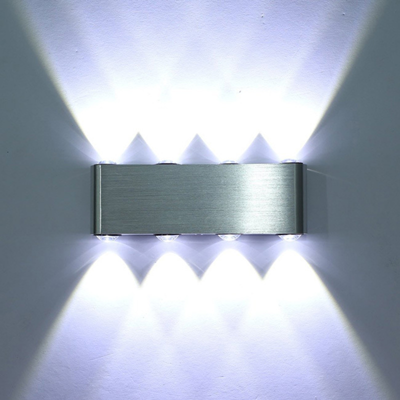 Tanbaby Led wall light 8W 800lm AC85-265V modern aluminum lamp wall sconce surfaced mounted light fixtures indoor bathroom<br><br>Aliexpress