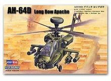 Hobby Boss 1/72 scale helicopter model aircraft 87219 AH-64D Longbow Apache attacke helicopter(China)