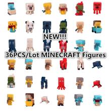 36pcs/set Hot Sale Minecraft Game Toys Model Juguetes Sword Espada Minecraft Action Figure Kid Toy Gifts Brinquedos #F