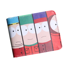 Cute Cartoon South Park Game Five Nights At Freddys Mens Wallet Short Leather Coin Balso Photo Purse Cards Holder Children Gift(China)
