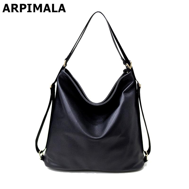 2017 Summer Ladies Hand Bag Women Leather Handbags Multifunctional Big Luxury Designer Shopper Bag Black Gray Shoulder Tote Bag<br><br>Aliexpress