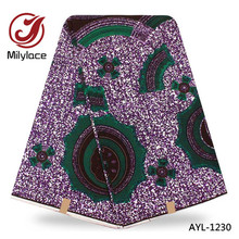 Beautiful African wax fabric 100% cotton ankara material african wax printed fabric  for party dress AYL-1230