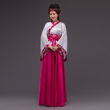 traditional chinese costumes for women dress ancient clothing folk cheap fairy tang suit china traditions costume hanfu dress(China)