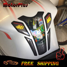 Fuel Tannk Pad Protector Cover 3D Motorcycle Decal Decoration 46 Sticker Rossi The Doctor For Honda Suzuki KTM BMW Kawasaki agv