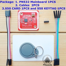 NFC RFID card reader and writer PN532 Development Board tag develop suit Kits  support Android system