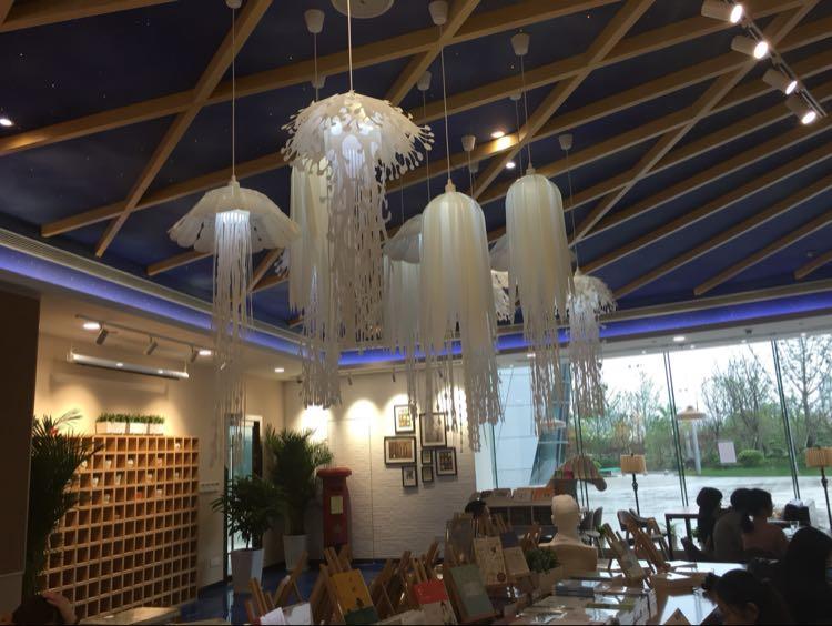 Modern-pvc-Jellyfish-Pendant-Light-for-living-room-Restaurant-bedroom-bar-hanging-lighting (3)