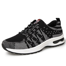 New 2017 Men Brand Running Shoes Lightweight SMART CHIP Sneakers Cushioning Breathable Sports Shoes