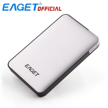 EAGET 1TB 2TB HDD 2.5 Hard Driver USB 3.0 High-Speed Shockproof Encryption External Hard Drives Laptop Mobile Hard Disk(China)
