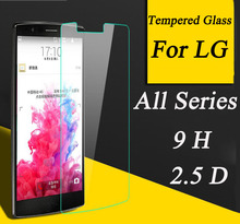 2.5D 9H Screen Protector Tempered Glass For LG G Flex2 G2 G2mini G3 Stylus G3mini G4 G5 G3S G4mini G4C Leno H340 Protective Film
