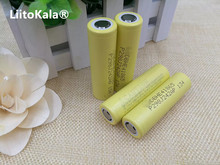 4pcs / lot 100% original new he4 2500mah lithium ion 18650 battery 3.7v power batteries 20a 35a download
