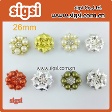 ON SALE buy 100pcs get 5pcs for free rhinestone buttons / 26mm buttons