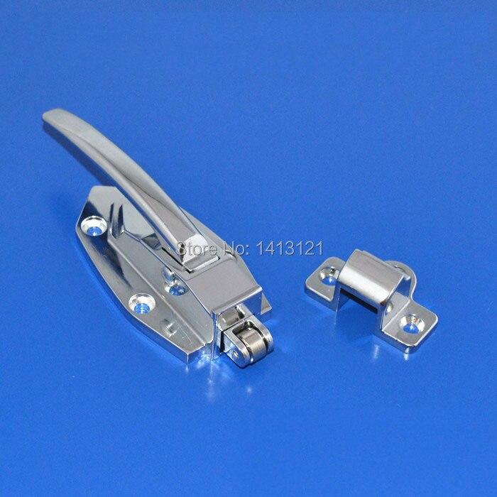 free shipping handle Freezer handle oven door hinge Cold storage door lock latch hardware door pull part Industrial plant<br>