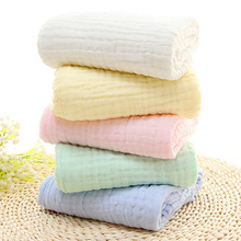 6 layers of gauze bath towel quilt blanket blanket thickening of air conditioning is a class of non absorbent cotton absorbent