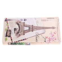 9 Styles Fashion Women's Wallet Brand Design Long Purse Graffiti Printing Clutch Wallets Card Holder PU Leather Coin Money Bags