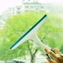 Glass door windows cleaning brush plastic wipers windows glass cleaning wipers cleaning house tools random colors EZLIFE MS626(China)