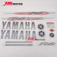 Free Shipping High Quality Motorcycle Decal Stikcer Paintable Graphics Set Transfer Fit For YAMAHA YZF R6 2006(China)
