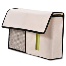 FJS-6 Pocket Bedside Storage Case Mattress Book Remote Caddy Homewares Beige