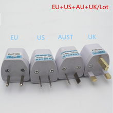SK014 Best Price Universal UK US AU  EU AC Power Socket Plug Travel Charger Adapter Converter