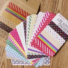 27 sheets/bag DIY Cute Kawaii Paper Dot Sticker Vintage Masking Sticker Set for Diary Album Scrapbooking Free shipping 10021(China)