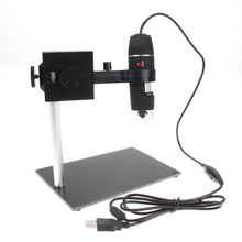 Portable Microscope Magnifier 8 LED 50X-500X USB Digital Microscope Magnification Holder for Soldering Stand Lamp Repair Tools(China)