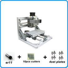 CNC 1610 with ER11,diy cnc engraving machine,mini Pcb Milling Machine,Wood Carving machine,cnc router,cnc1610,best toys gifts(China)