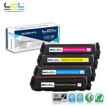 LCL 410A CF410A CF411A CF412A CF413A (4-Pack) Toner Cartridge Compatible for HP Color LaserJet Pro M452dn/M477fdw/M477fnw(China)