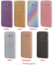 Front + Back Full Body Bling Crystal Diamond Film Sticker For G530 Grand Prime Decal Skin Cover Capa For Samsung Galaxy S7 edge