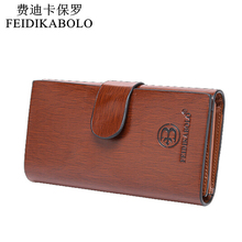 2015 new leather clutch wallet Business casual wallet China brand high quality purse Brown men organizer wallets Free shipping