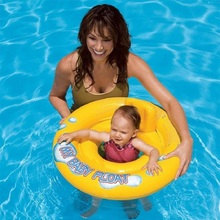 Swimming Baby Accessories Swim Neck Ring Baby Tube Ring Safety infant Neck Float Seat Boat Swim Circle Inflatable Swimming Pool(China)
