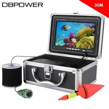 "30M 1000 TVL Fish Finder 7"" Underwater Video Fishing Camera Kit with 6 PCS LED Lights CMOS Sensor 165 View Angle(China)"