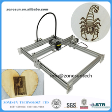 New 2500mW Large Area Mini Laser Engraver Engraving Machine Laser Cutting Printer Marking Machine Working Size 350*500mm