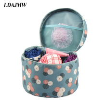 LDAJMW Travel Cosmetic Makeup Hanging Underwear Bra Storage bag Toiletry Holder Beauty Wash Bag Organizer For Make Up(China)